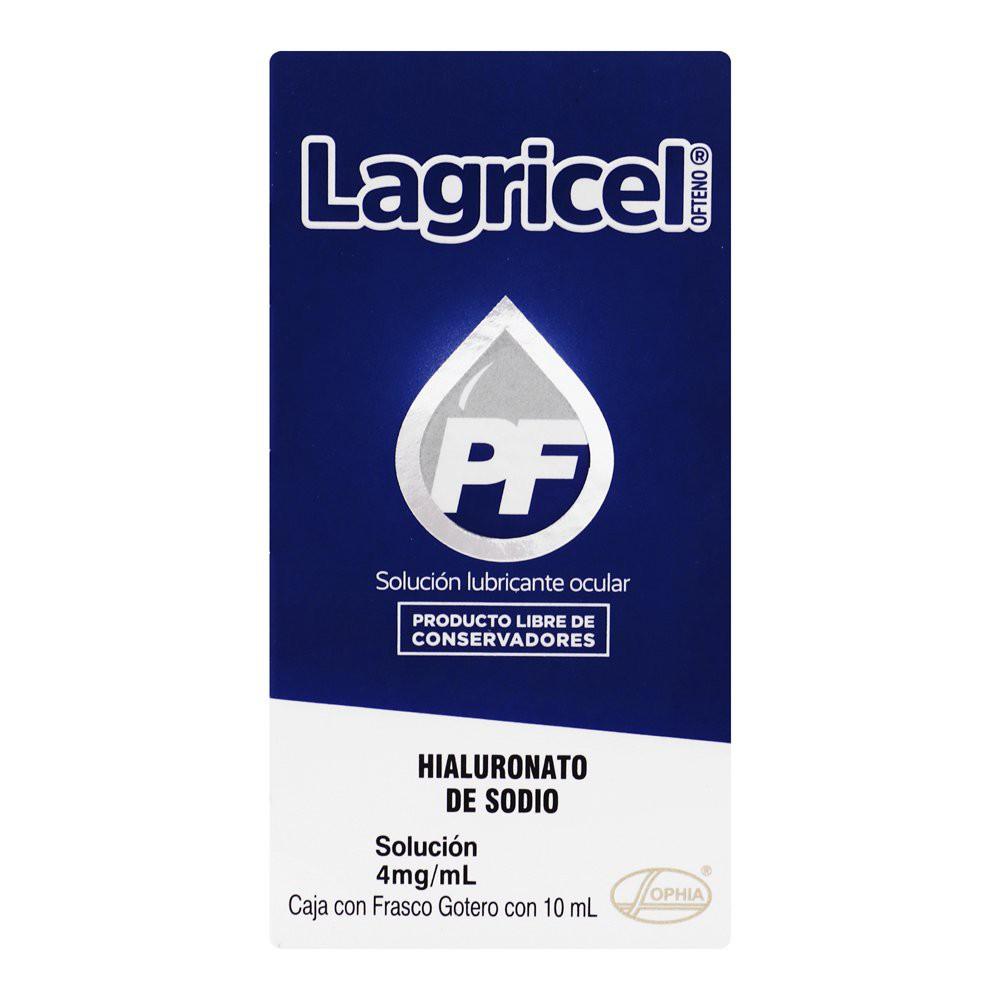 Lagricel pf oft 4mg/ml sol 10ml