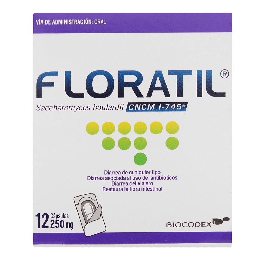 Floratil cápsulas 250 mg