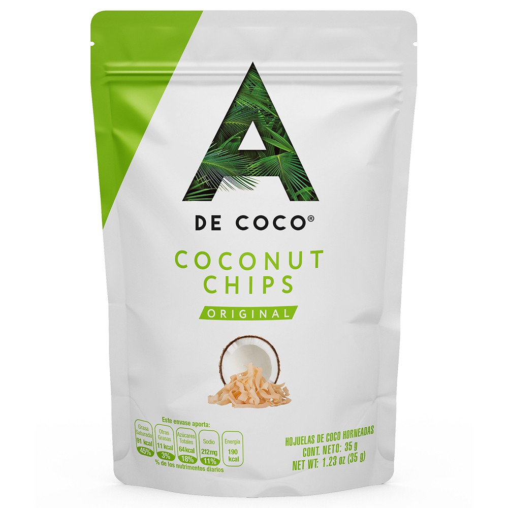 Coco chips naturales