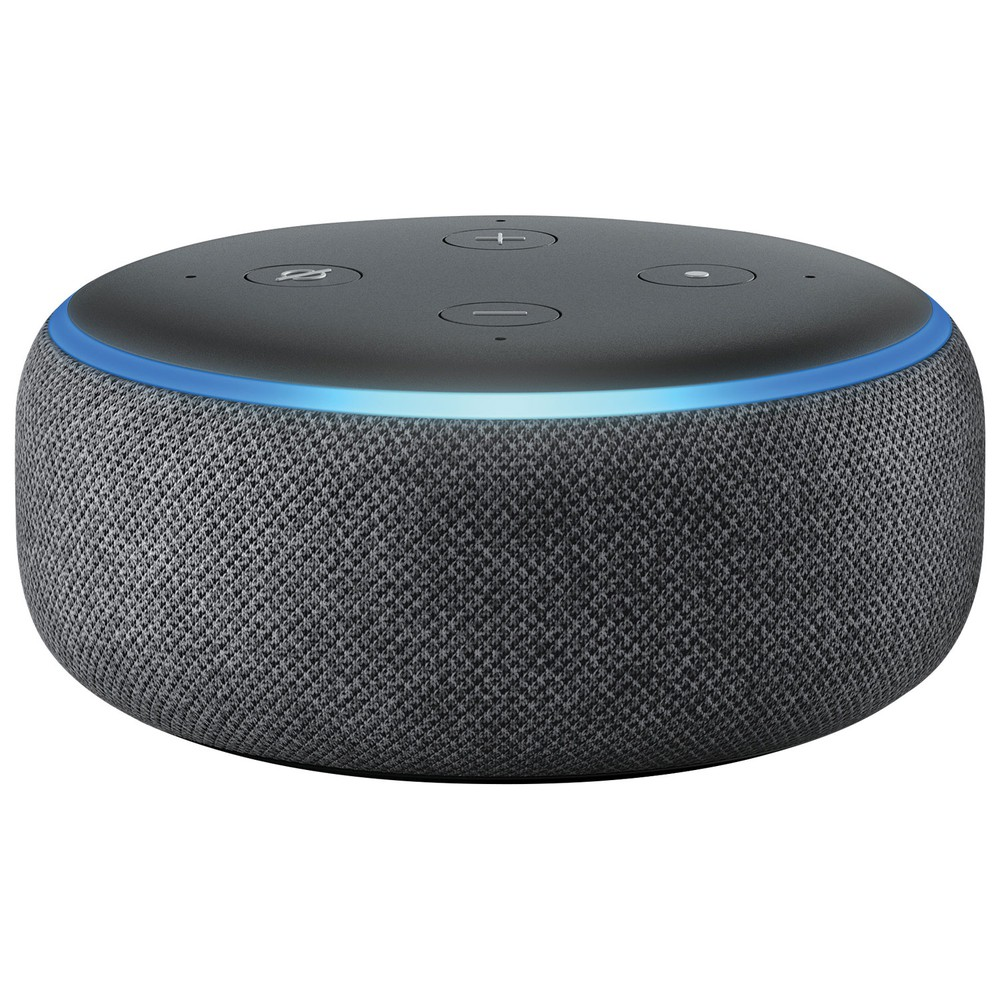 Alexa echo dot (3ra generación) charcoal 10,5 x 10 x 10,5 cm