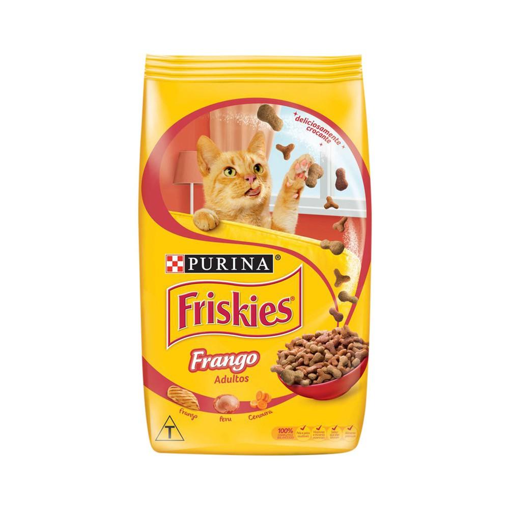 Ração gatos adultos sabor frango 3kg