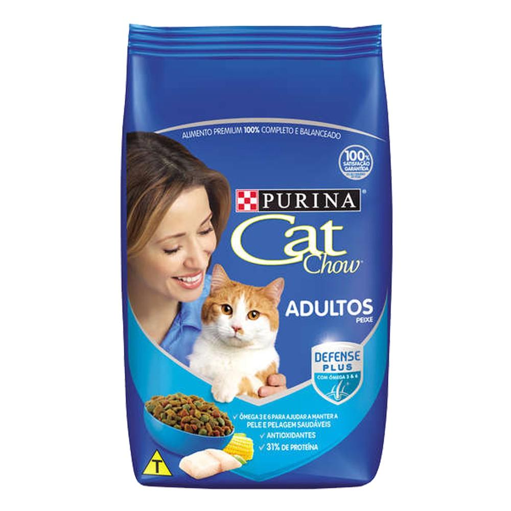 Ração para gato peixe e frutos do mar 3kg