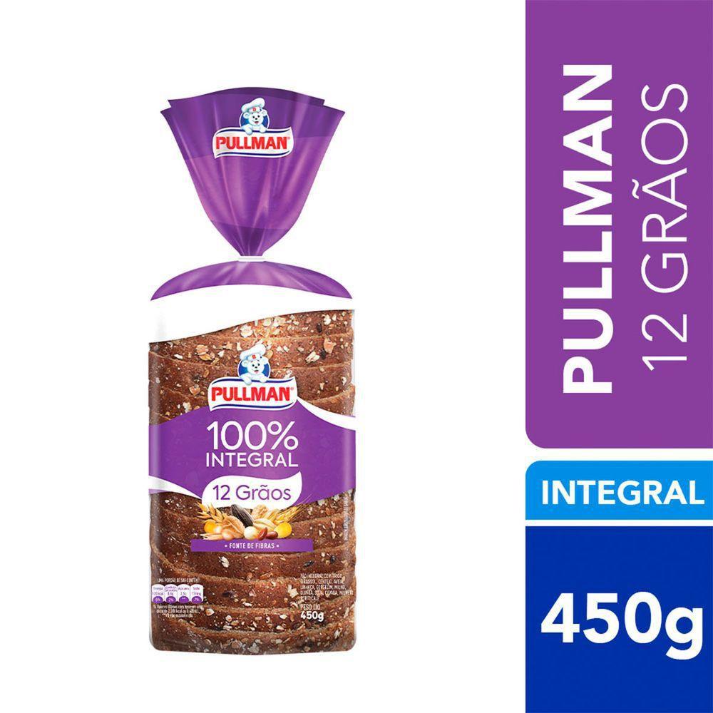 Pão de forma 12 grãos 100% integral