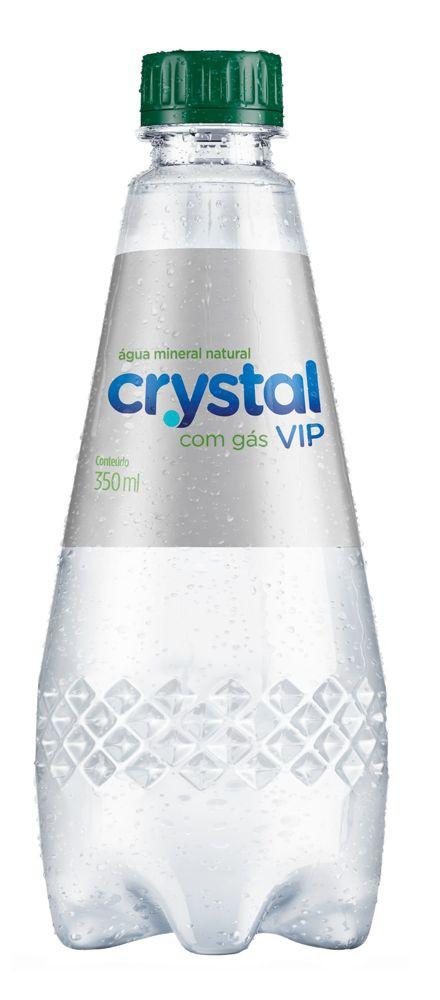 Água mineral vip com gás