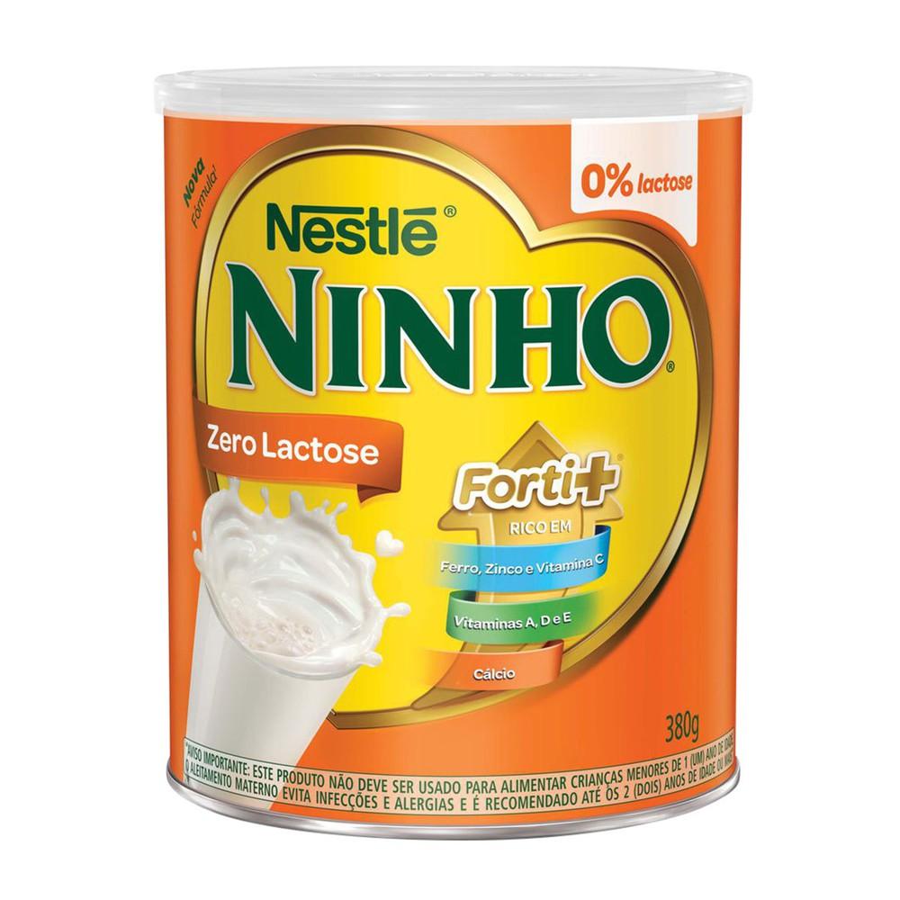 Leite em pó zero lactose forti+ Ninho