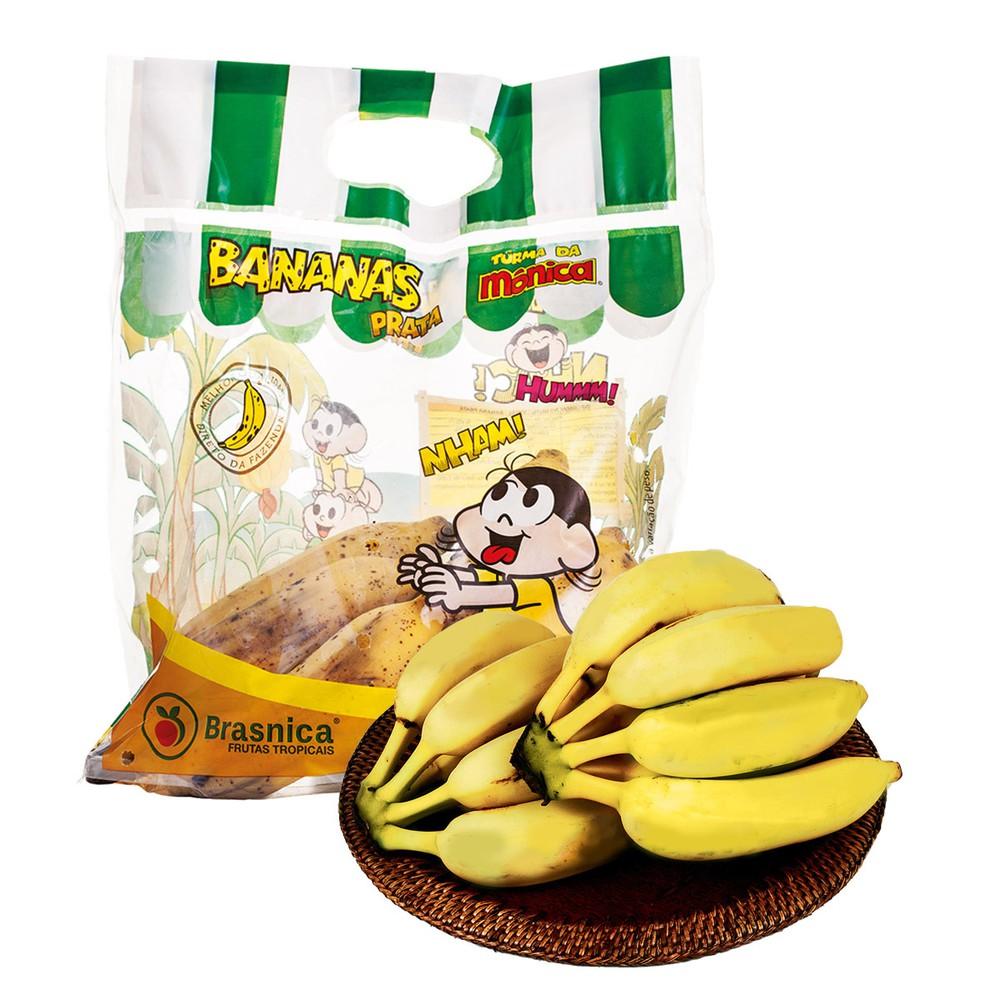Banana prata Turma da Mônica