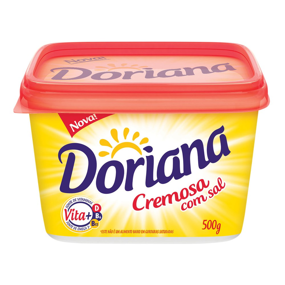 Margarina cremosa com sal