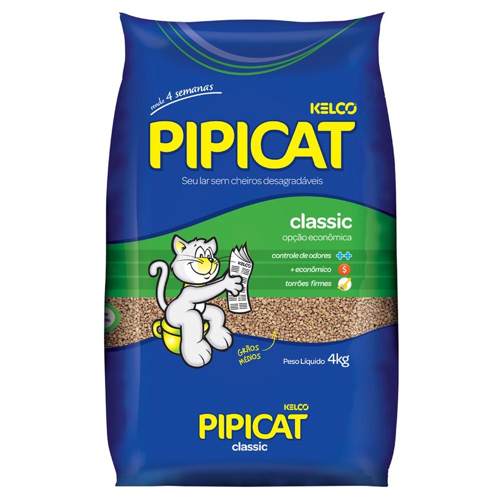 Areia sanitária classic Pipicat 4kg
