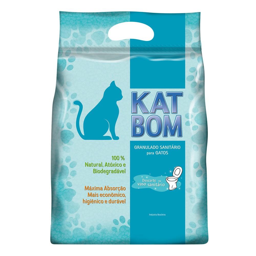 Granulado sanitario para gatos