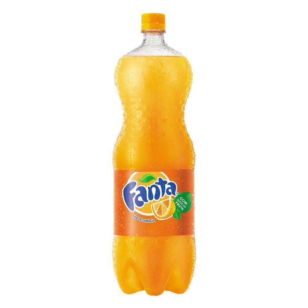 Refrigerante de laranja