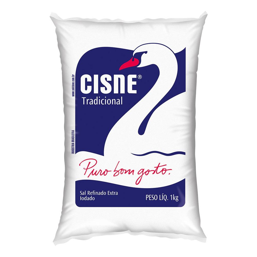 Sal refinado branco
