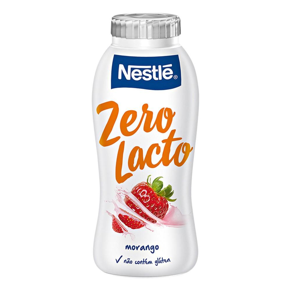 Iogurte semidesnatado zero Lactose morango