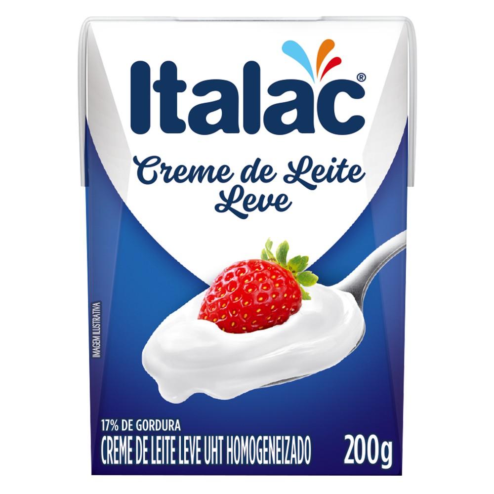 Creme de leite leve 200g