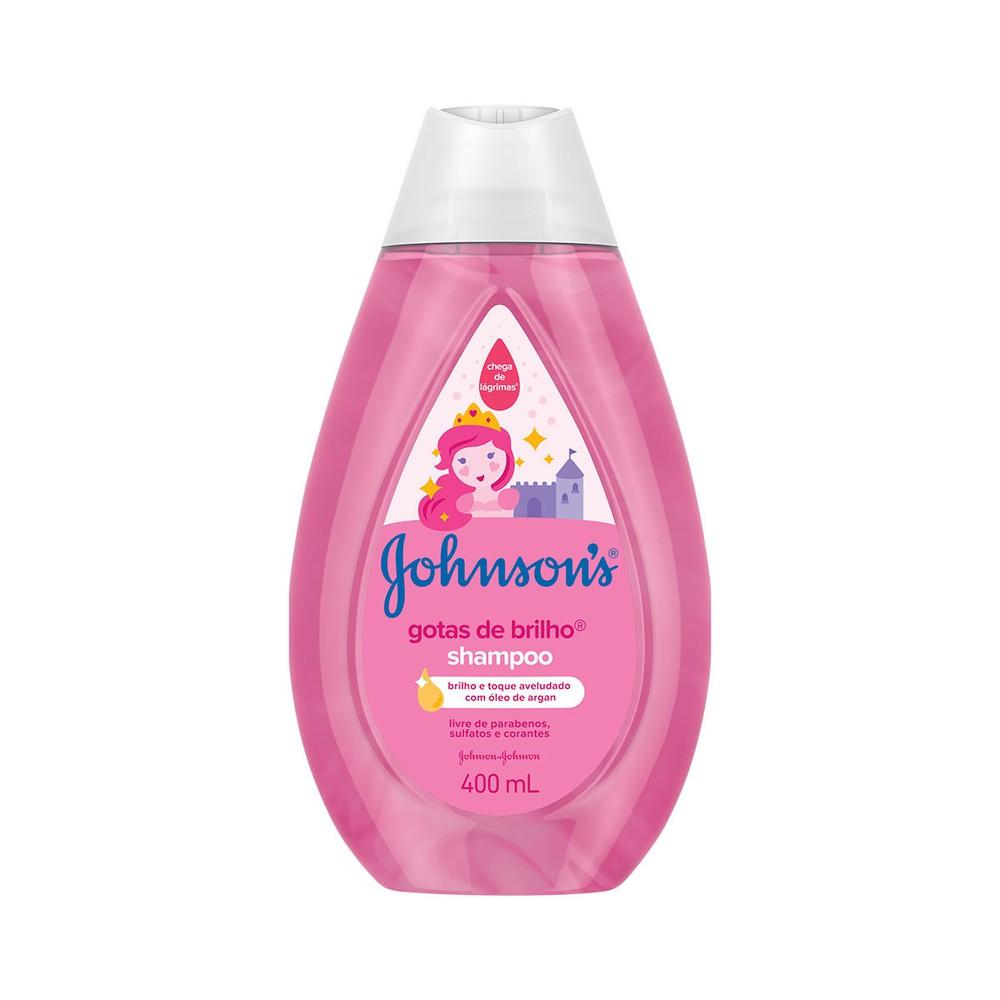 Shampoo infantil gotas de brilho