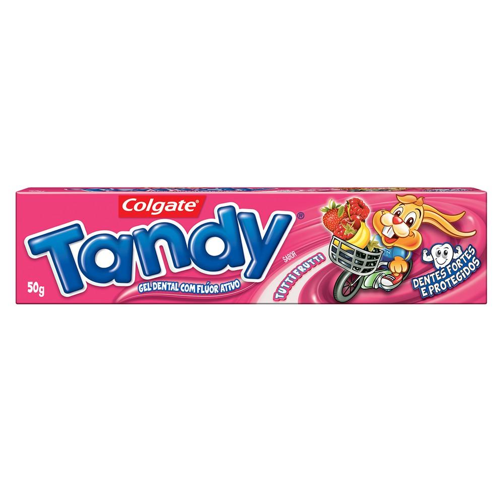 Creme dental infantil tutti frutti Tandy