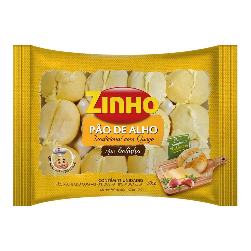 Pão de alho com queijo tipo bolinha
