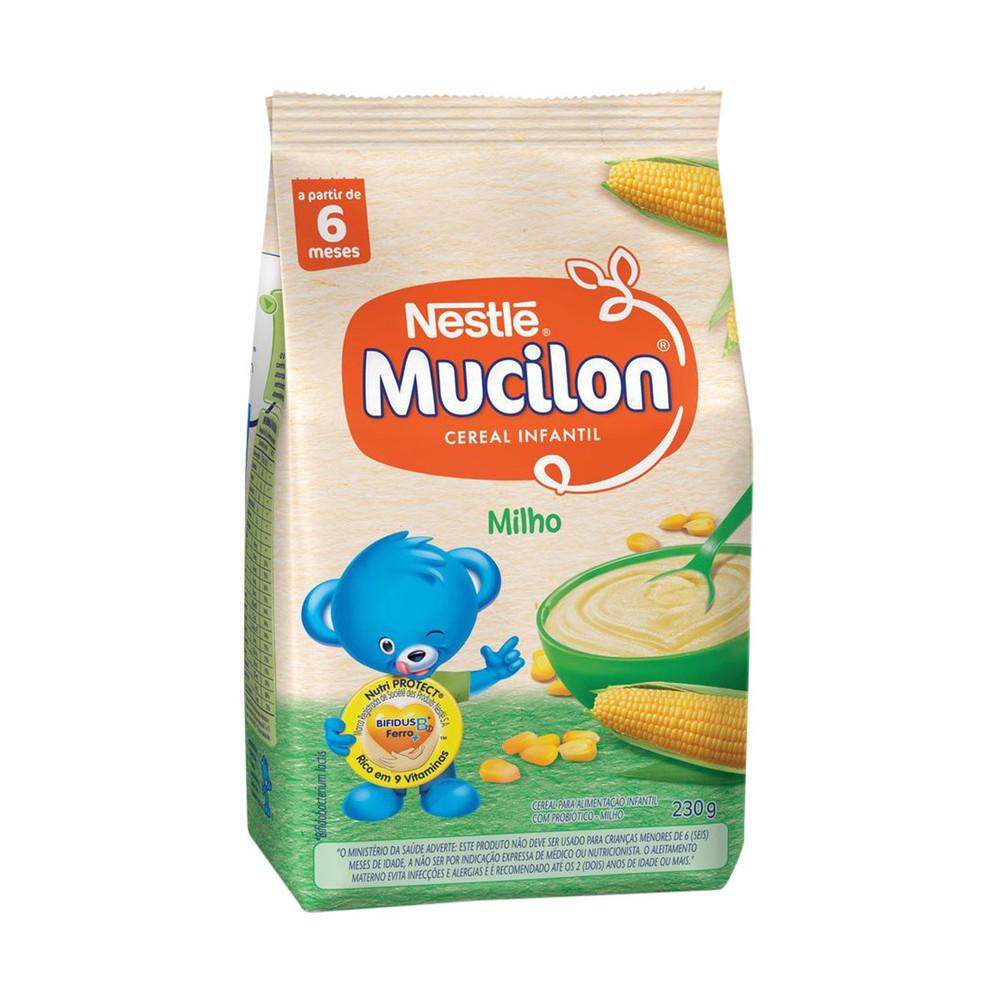 Cereal infantil milho Mucilon