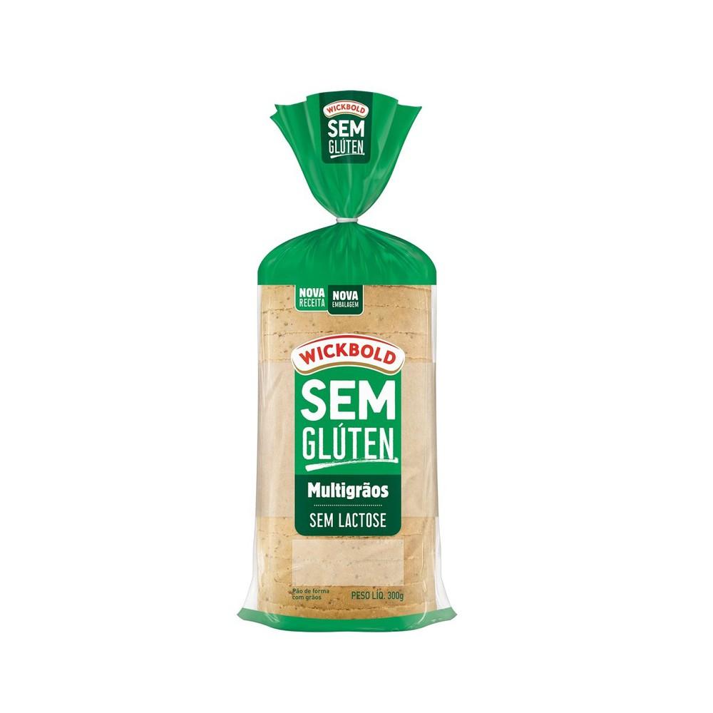 Pão de forma Multigrãos sem glúten e sem lactose