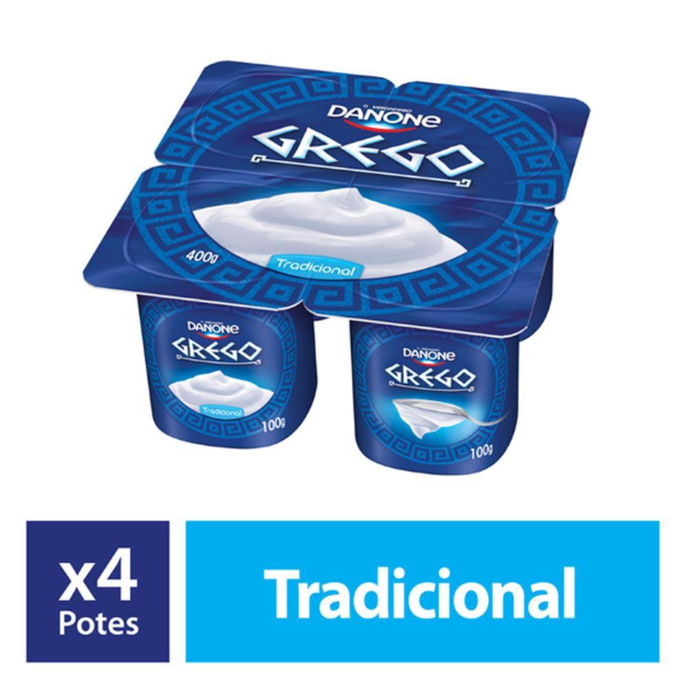 Iogurte grego tradicional