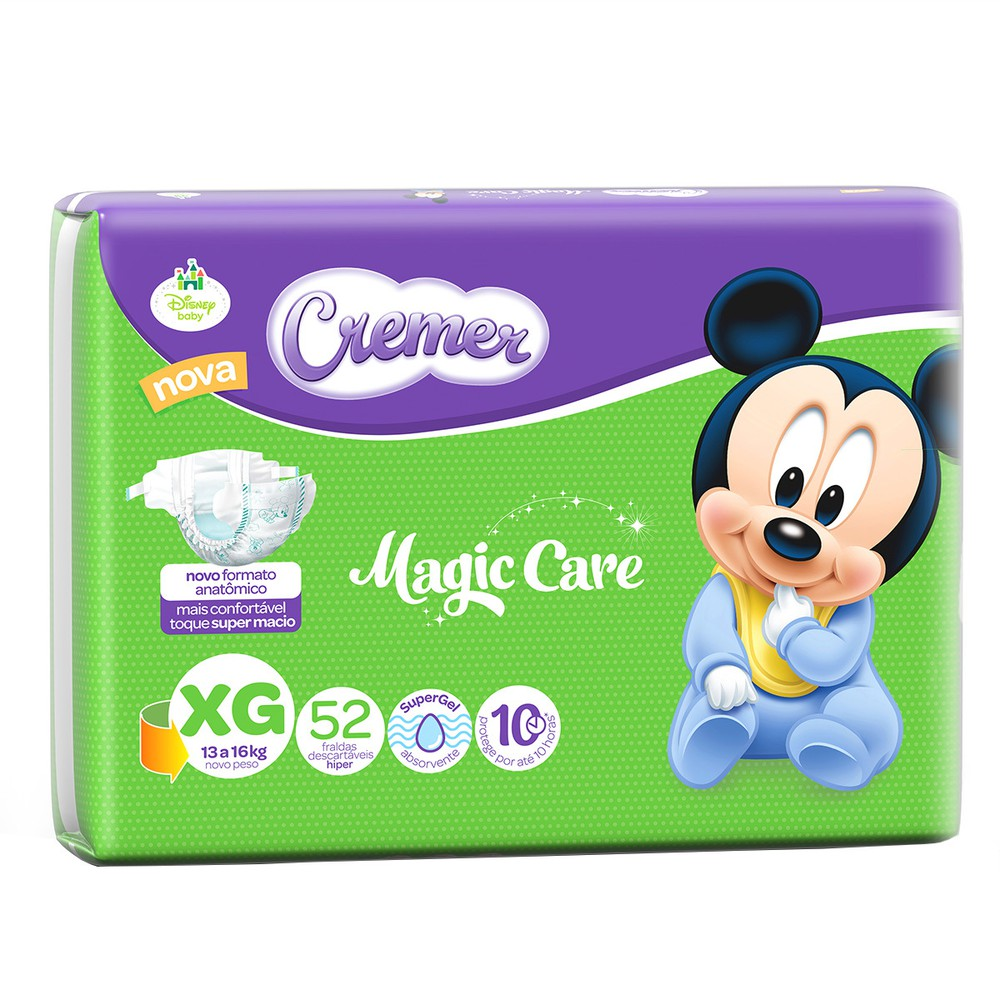 Fralda Disney baby magic care  XG