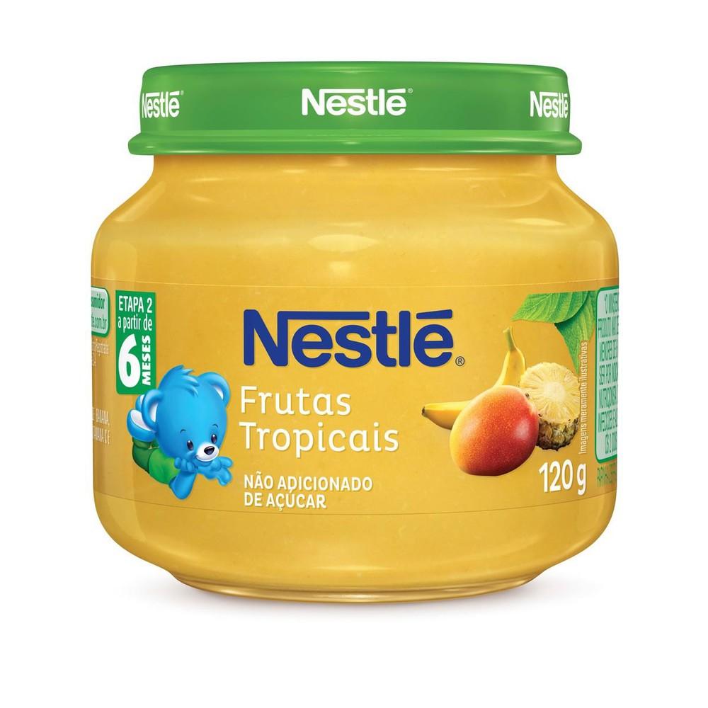Papinha frutas tropicais