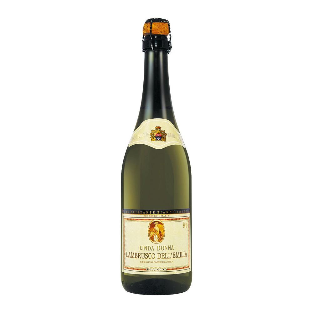 Vinho frisante Linda Donna lambrusco branco