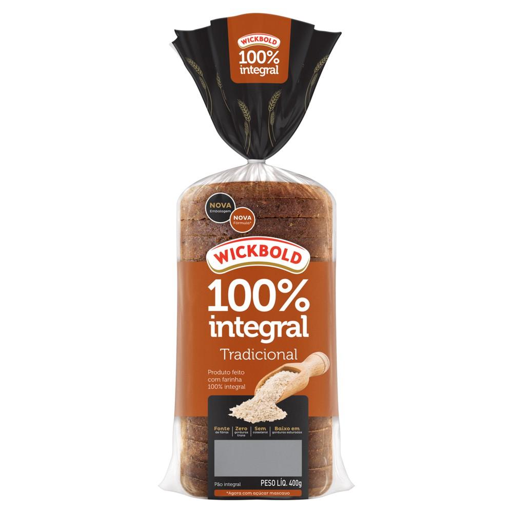 Pão de forma Grão sabor 100% integral