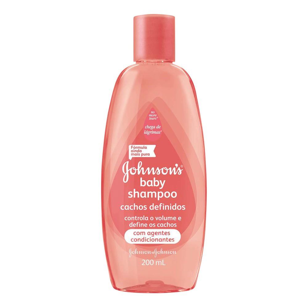 Shampoo infantil cachos definidos