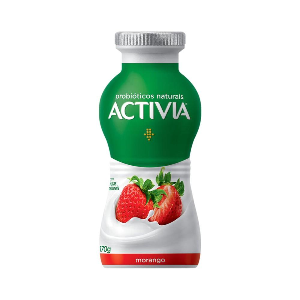 Iogurte sabor morango Activia