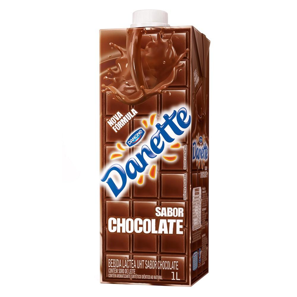 Bebida láctea sabor chocolate Danette