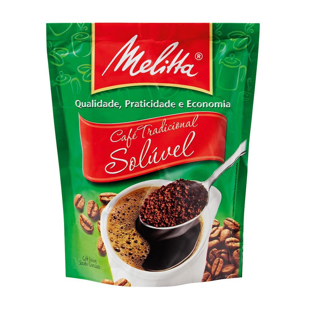 Café solúvel granulado tradicional