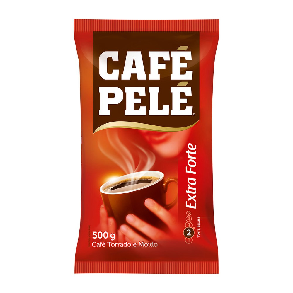 Café torrado e moído extra forte almofada