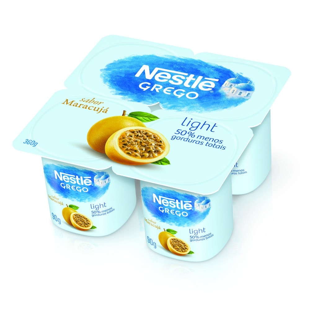 Iogurte grego light maracujá