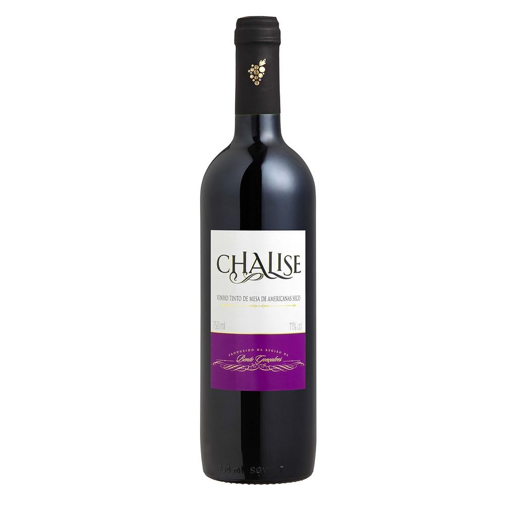 Vinho Chalise tinto seco