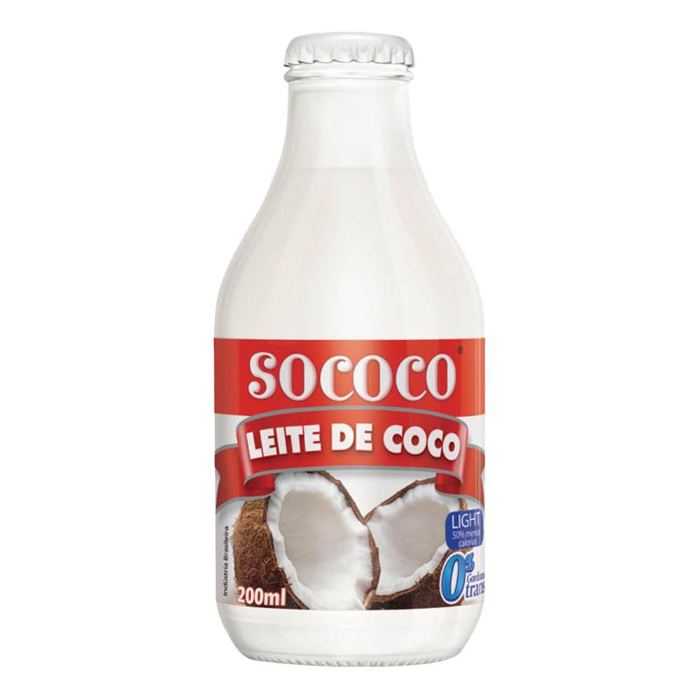Leite de coco culinário light