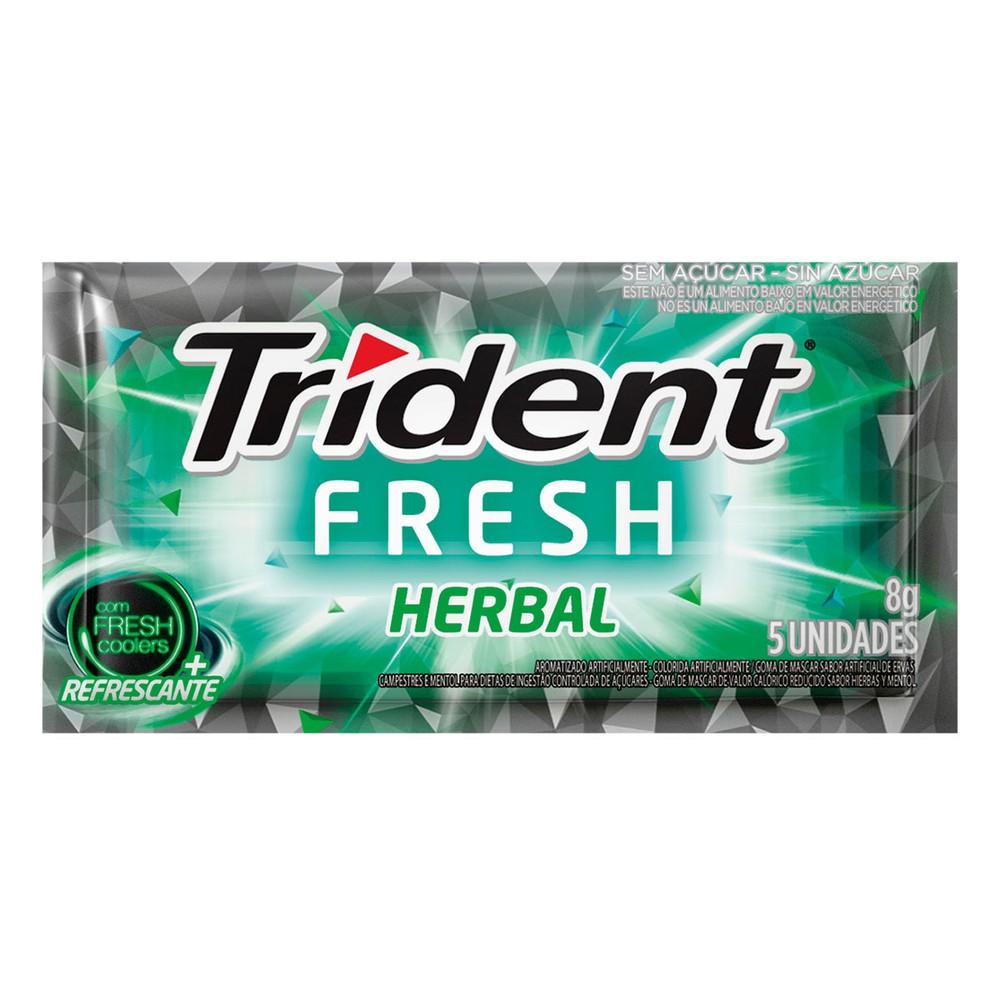 Goma de mascar sabor X fresh herbal