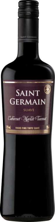 Vinho Saint Germain cabernet, merlot e tannat suave