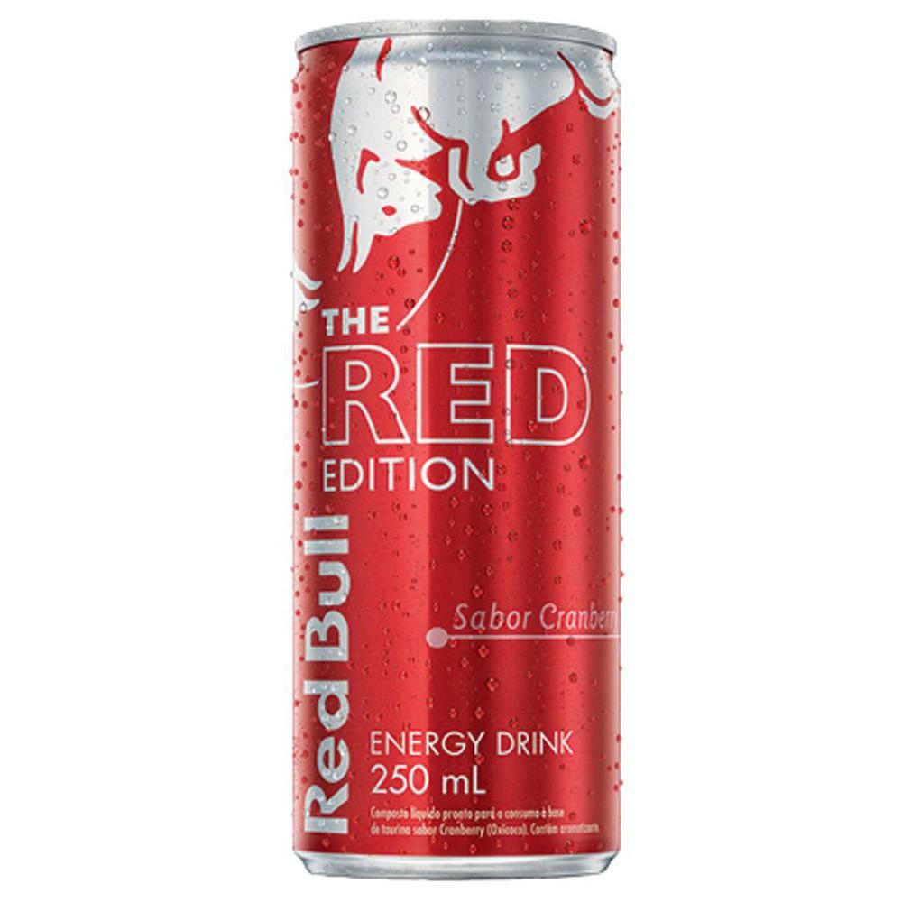 Energético sabor cranberry