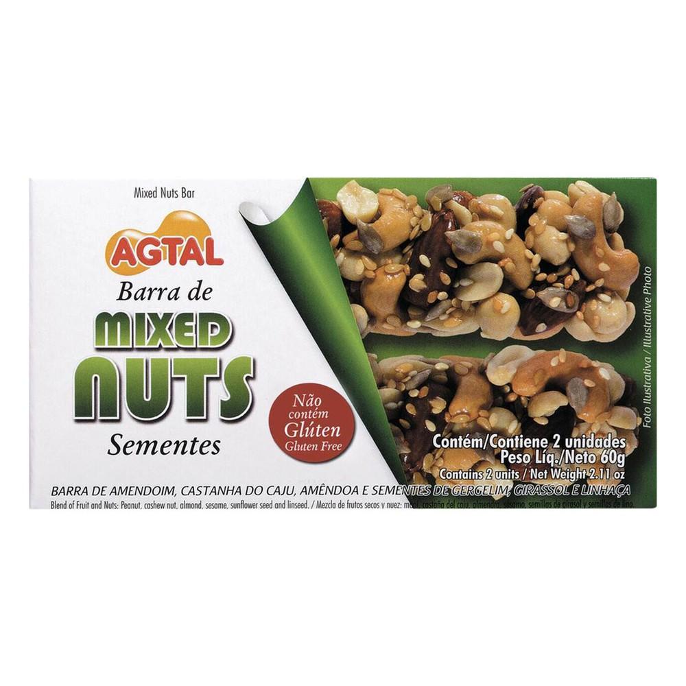 Barra de sementes mixed nuts