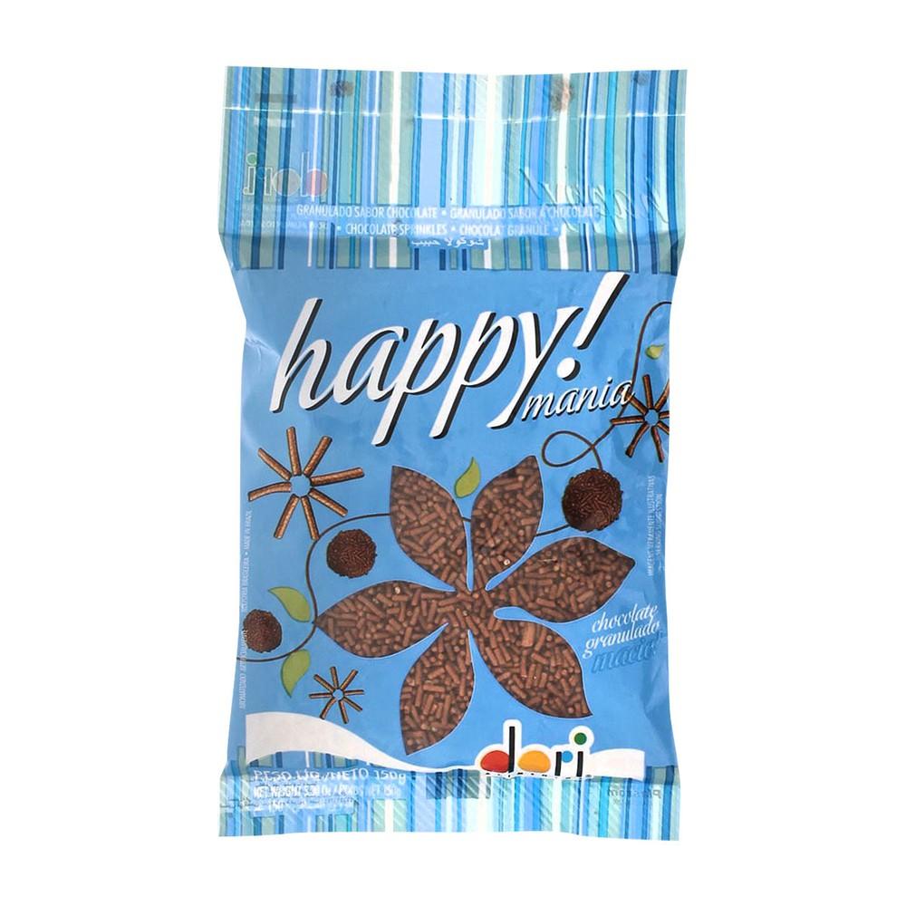 Granulado de Chocolate Dori Happy Mania 150g
