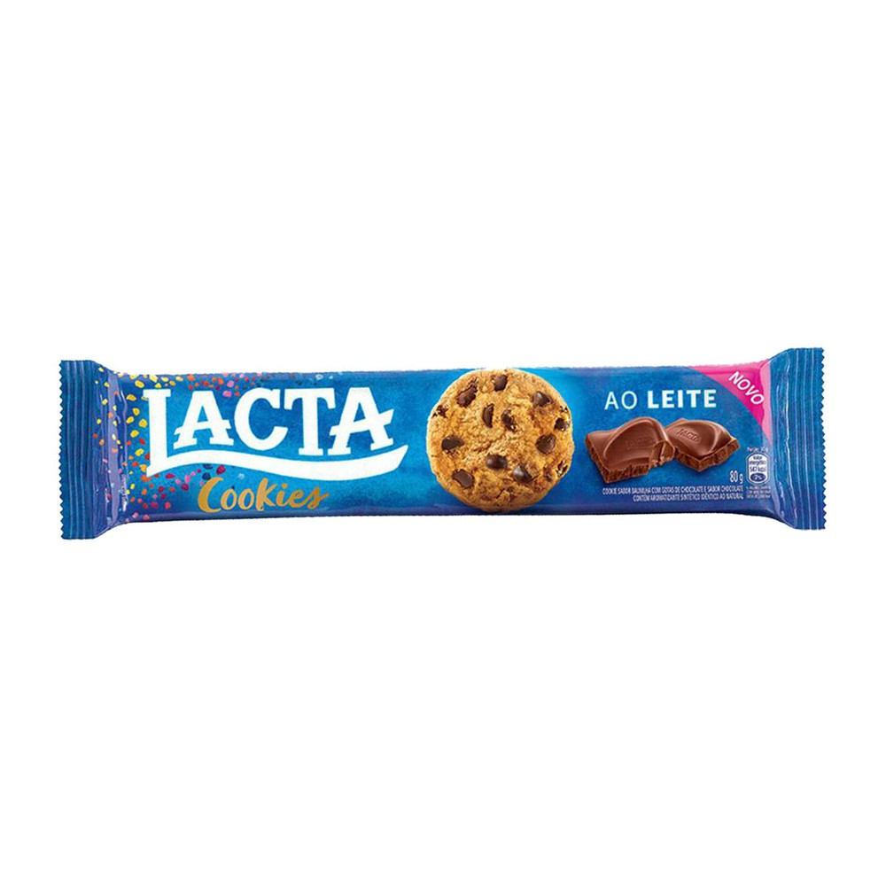 Biscoito doce cookie chocolate ao leite