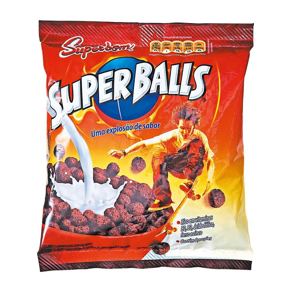 Cereal matinal de chocolate Super balls 200g