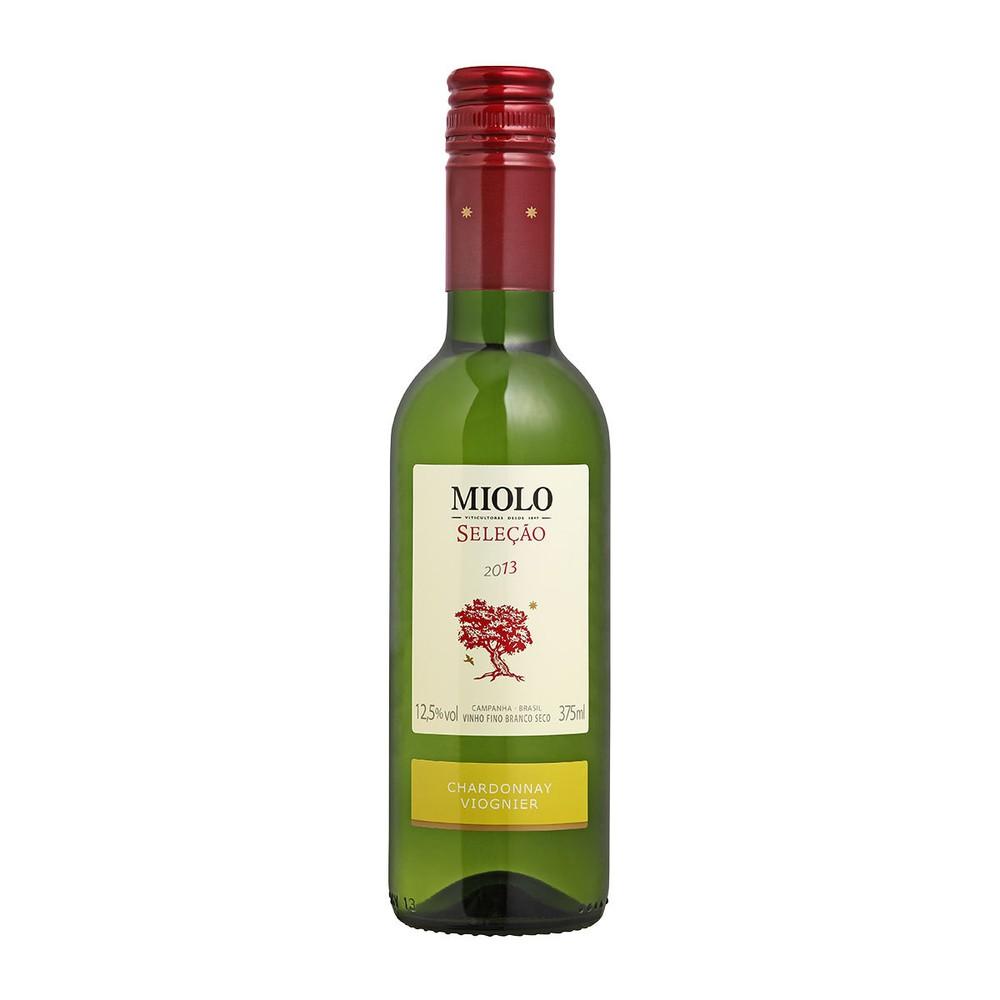 Vinho branco seco chardonnay e viognier 375ml