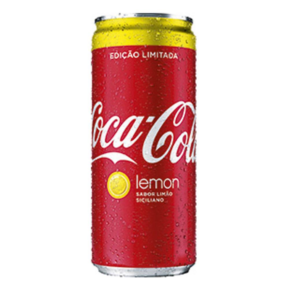 Refrigerante de cola sabor limão siciliano