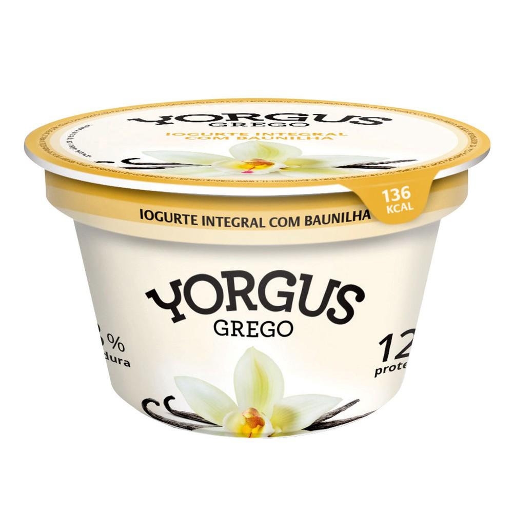 Iogurte grego baunilha