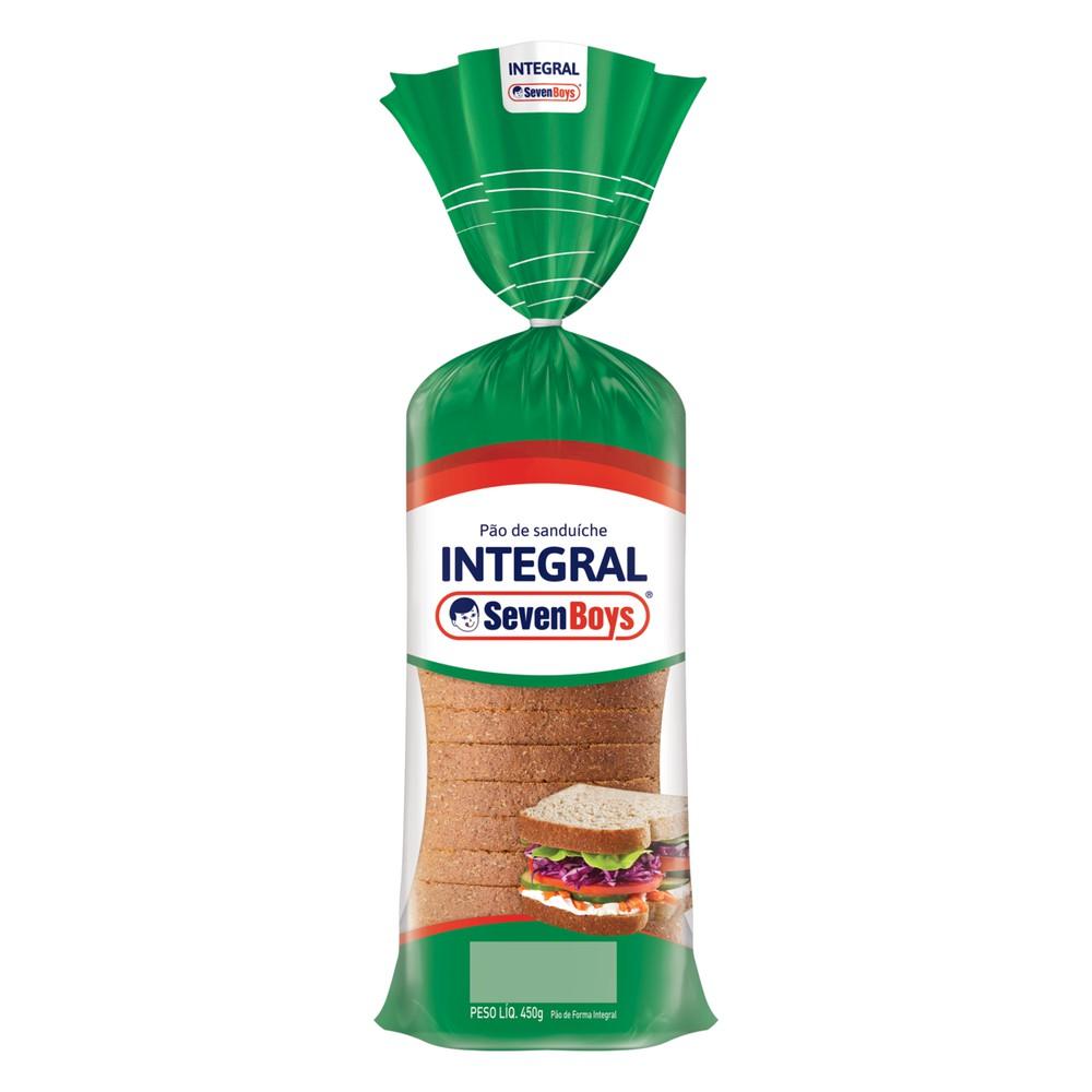 Pão de sanduíche integral