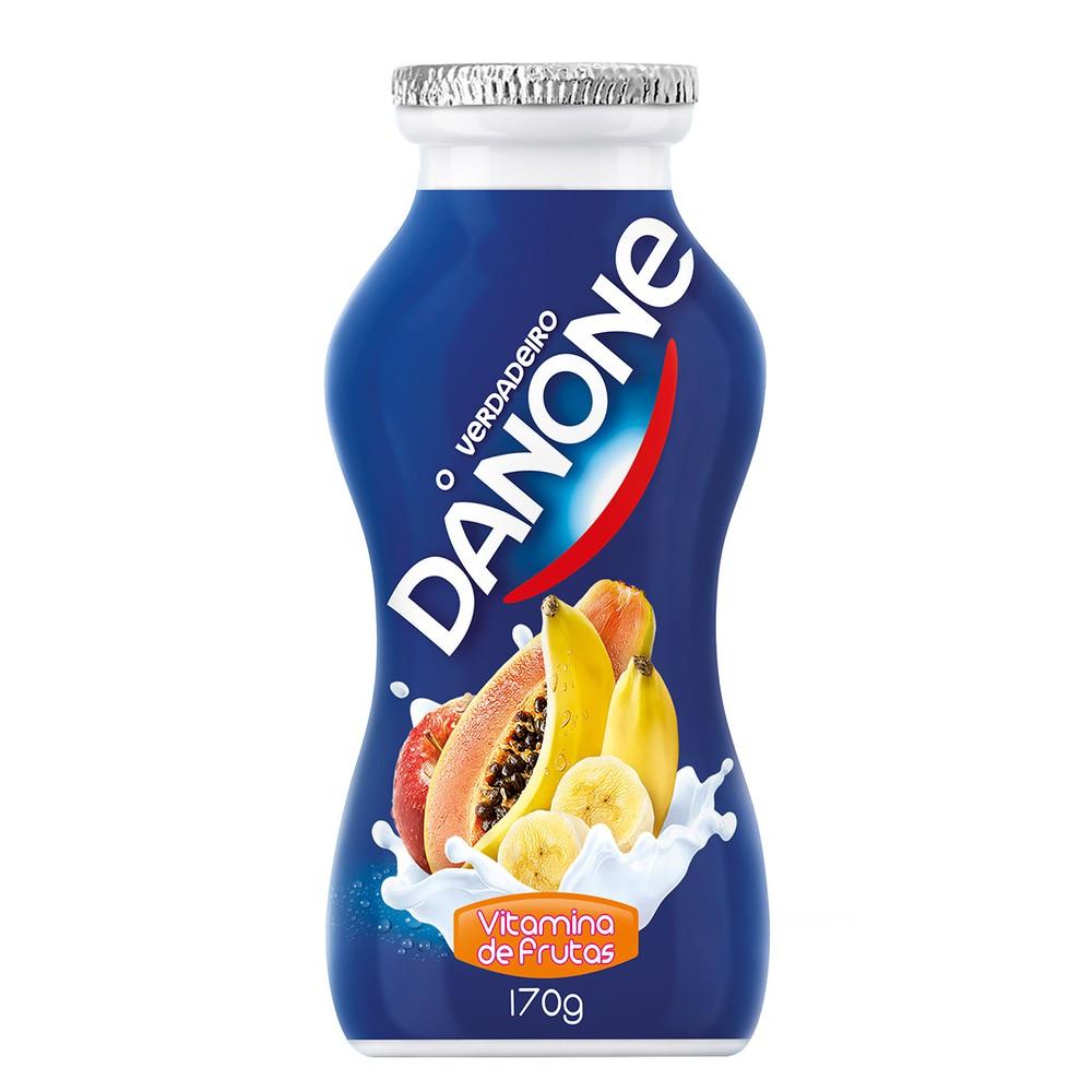 Iogurte líquido vitamina
