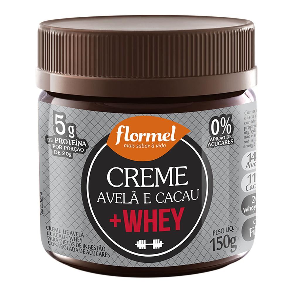 Creme de Avela com Whey Protein Flormel 150g