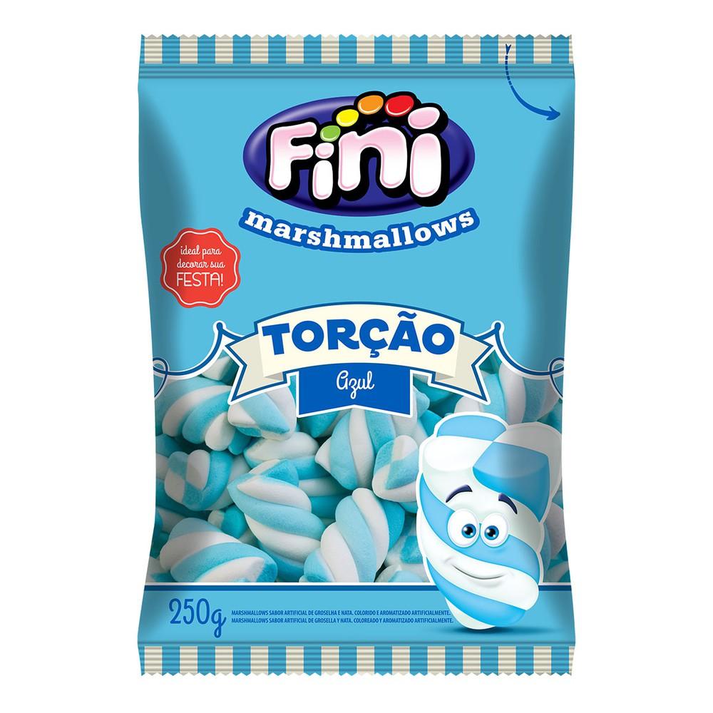Marshmallow torção azul