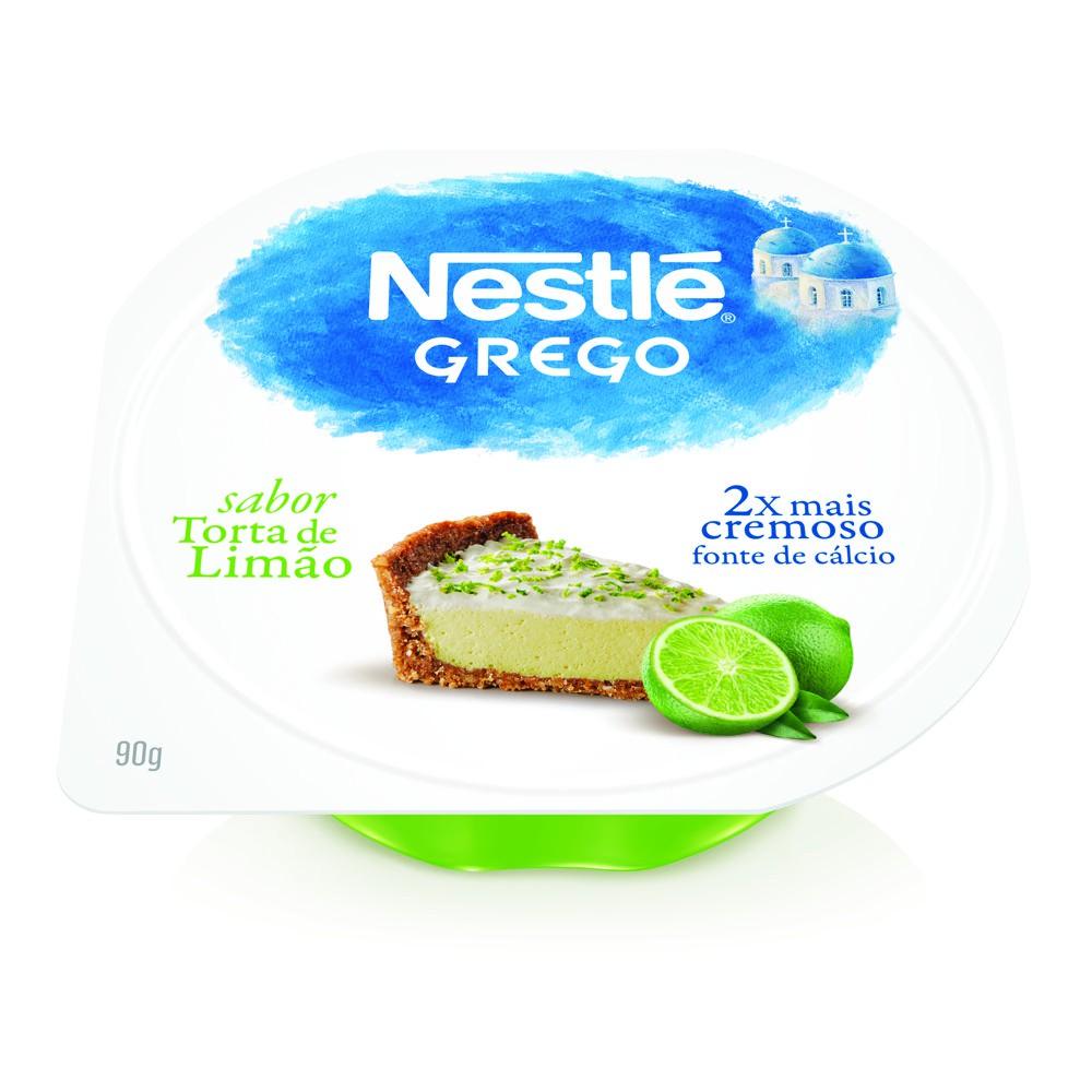 Iogurte grego torta de limão
